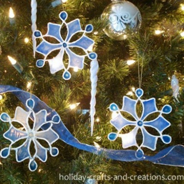 snowflake craft clings