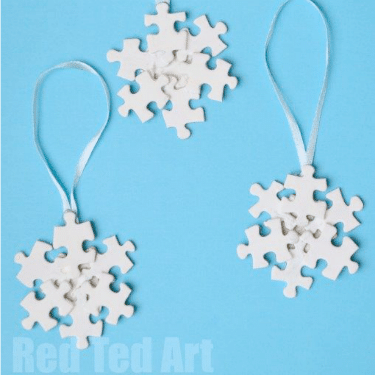 snowflake crafts ornaments