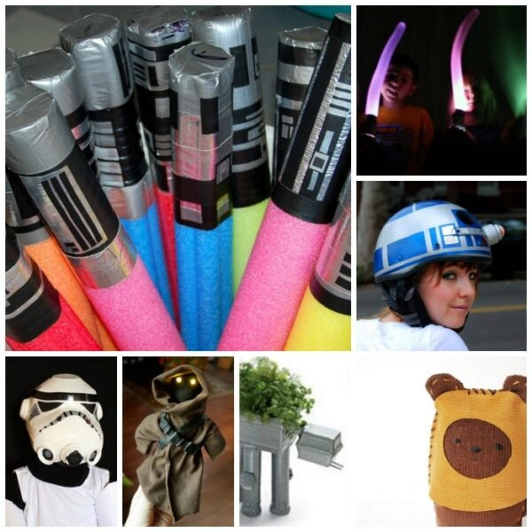 30 Fantastic Star Wars Crafts and Ideas. Simply brilliant.