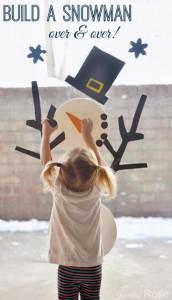 Build a snowman toy