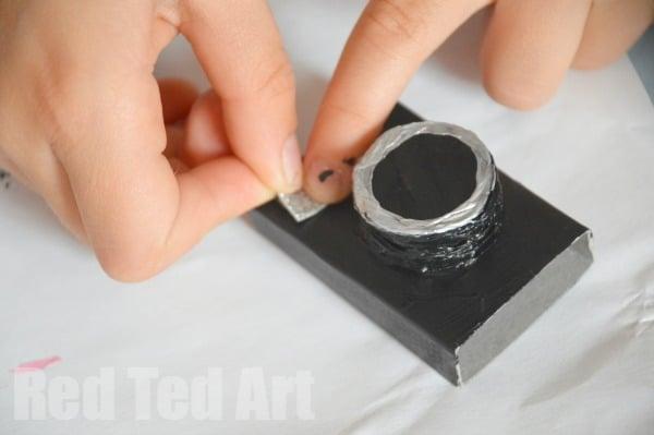 Camera - Matchbox Craft Idea