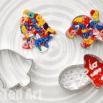 Cookie Cutter Perler Bead Ornaments