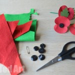 DIY Poppy - remember to donate