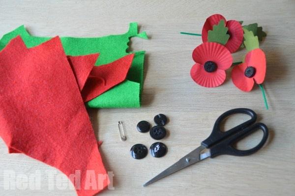 DIY Poppy - remember to donate