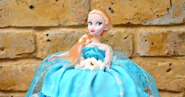Elsa Barbie Doll Cake Red Ted Art S Blog