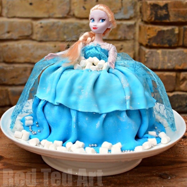 Elsa Cake - DIY and Recipe
