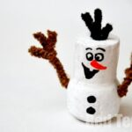 Frozen Olaf Craft - Cork Snowman