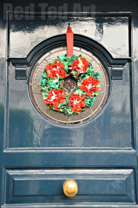 How to Make a Rag Rug Wreath