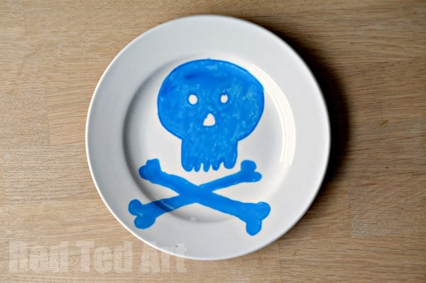 Kids Art Crafts - Design a Plate