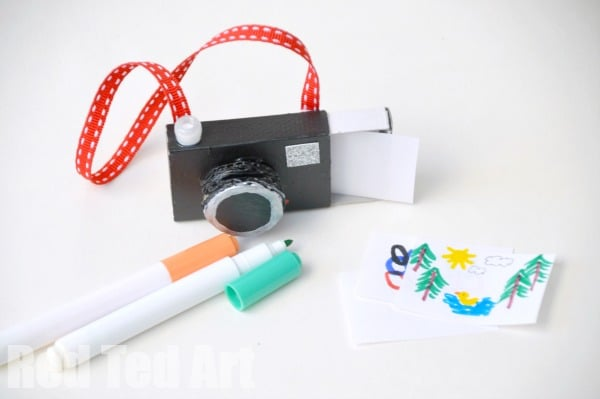 Matchbox Camera Crafts For Kids