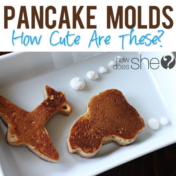 Pancake-Molds Cookie Cutters