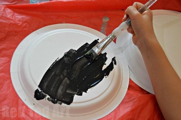Paper Plate Crafts - Lantern