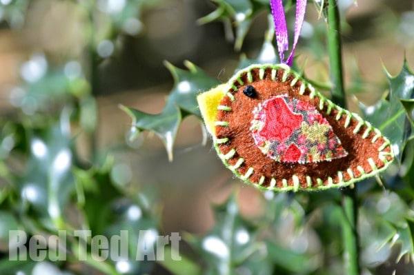 Robin Craft - Felt Ornaments