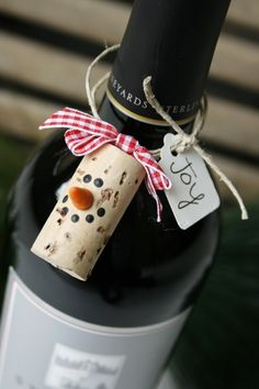 christmas cork crafts