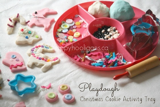 cookie cutter play dough invitation