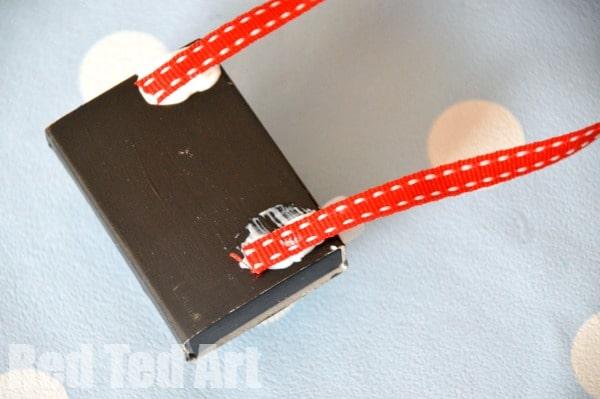 matchbox craft - cute camera