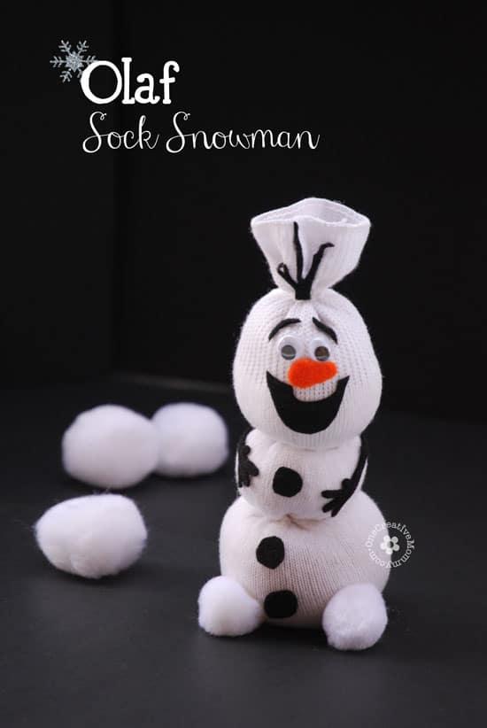 olaf-sock-snowman
