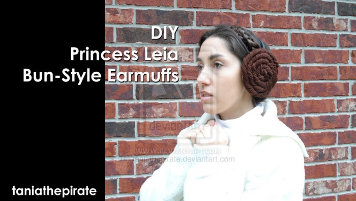 princess leia ear muffs