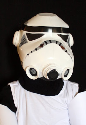 star wars costumes crafts - milk carton storm trooper
