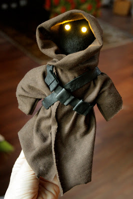 Star wars crafts jawa doll red ted art 39 s blog for Star wars arts and crafts