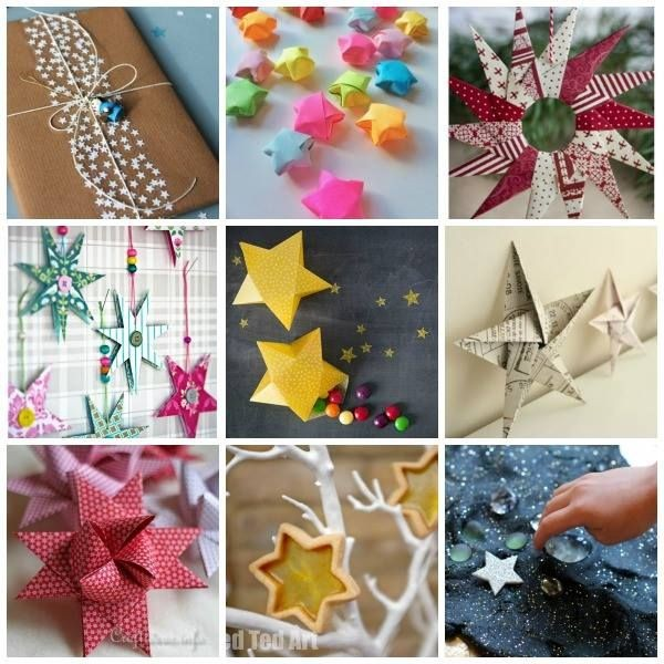 50 Star Crafts Ideas Red Ted Art S Blog