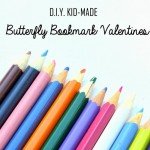 BUtterfly Bookmark Valentine's