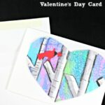 Valentine's Day Cards – Water Color Birch Tree Heart Card