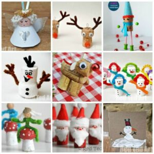 Christmas Cork Craft Ideas