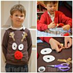 Easy DIY Christmas Jumper for Kids