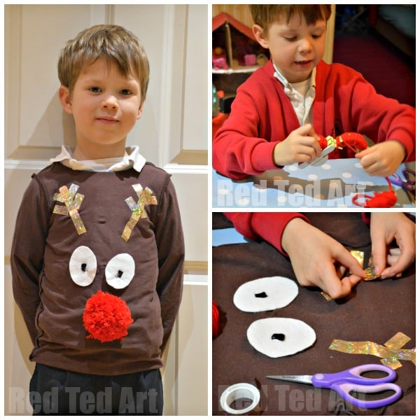 Christmas Jumper Day Crafts
