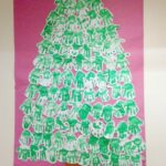 Classroom Christmas Craft – Handprint Tree