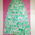 Classroom Christmas Craft – Handprint Tree
