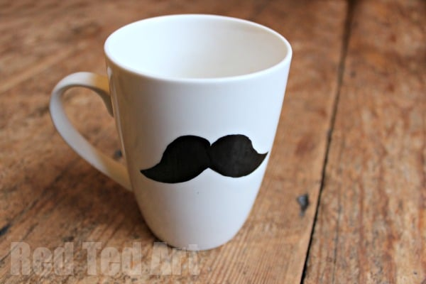 Mustache Crafts - Gifts for Dad