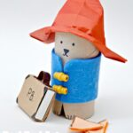 Paddington Bear Crafts - TP Roll Bear & Matchbox