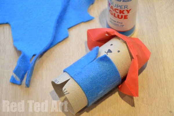 Paddington Crafts. Paddington Bear Crafts - TP Roll Bear & Matchbox #Paddington #Paddingtonbear #paddingtonbearcrafts #tprolls