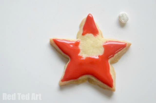 Edible Ornaments - Santa Stars