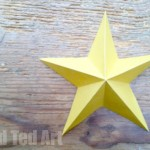 Simple Paper Origami Star