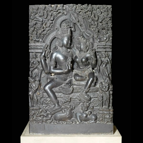 The Art Curator for Kids - 5 Artworks about Love - Shiva and Parvati, The British Museum, Museum Permission