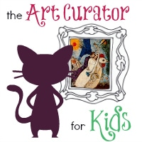 The Art Curator for Kids - Square Logo200