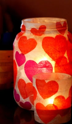 Valentines Day Decorations Lanterns