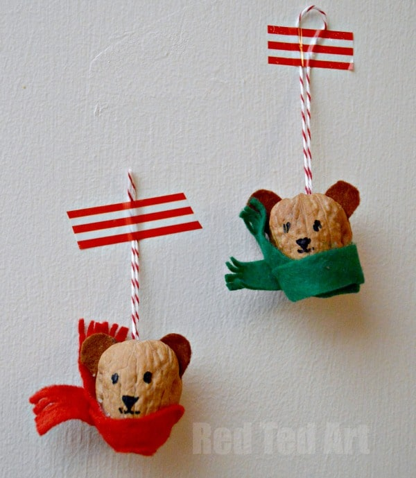 Winter Bears - Walnut Crafts