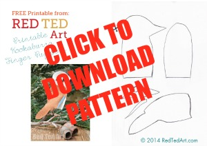 Free Kookaburra Craft Pattern
