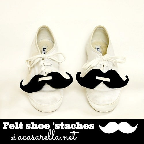 moustache craft ideas