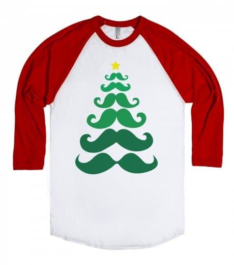 mustache ideas for christmas