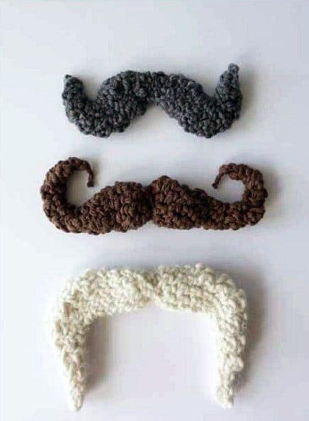 mustache patterns free
