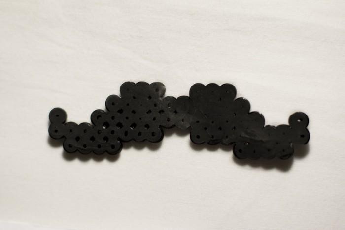 perler bead mustache crafts