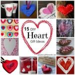 15 DIY heart gift ideas