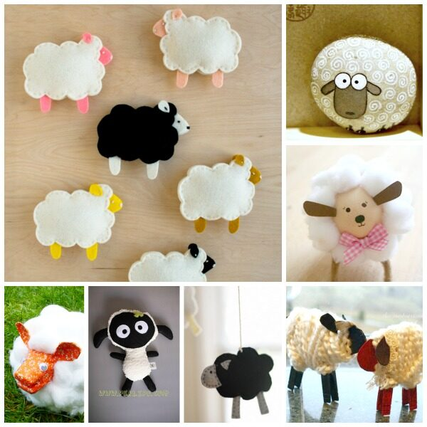 Adorable Lamb Crafts for Spring and Easter