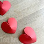 3d Paper Hearts Tutorial