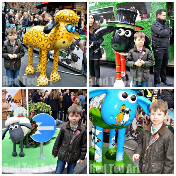 At the Shaun the Sheep Premier